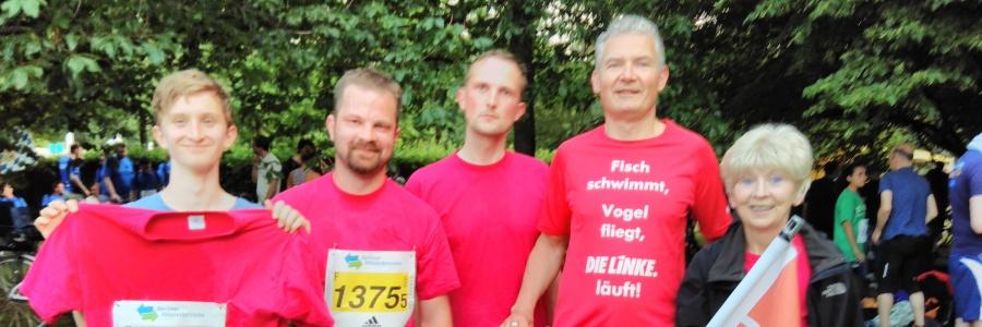 """Rote Socken solidarisch mit """"Rosa rennt"""""""